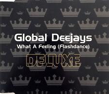 Global Deejays Maxi CD What A Feeling (Flashdance) - Australia (EX+/EX+)