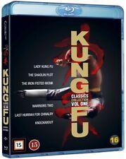 Kung-Fu Classics Box 6 Disc Blu-ray Set 6-Movie region B English audio