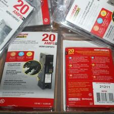 New Listingten 10 Square D Homeline Hom120pdf Hom120pdfc 1p 20a Dual Function Breaker