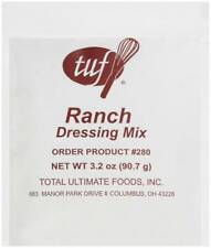 Total Ultimate Foods Ranch Salad Dressing Mix, 3.25-Ounce Units (Pack of 18)