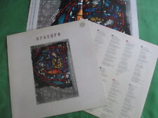 Erasure Lp (STUMM 55) ft Limited Edition colour print- Innocents