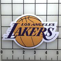 """Los Angeles LA Lakers 5"""" Wide Color Vinyl Decal Sticker BOGO"""