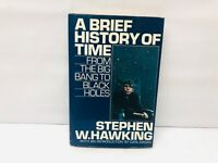 Stephen W. Hawking A BRIEF HISTORY OF TIME 1st Bantam Edition 1988 Collectible