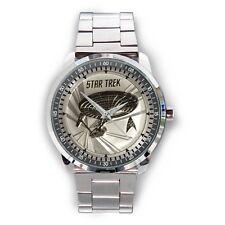 2016 1 Oz Tuvalu Star Trek Enterprise Silver Coin Sport Metal Watch Best Gift
