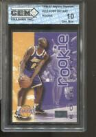 1996-97 Kobe Bryant Skybox Premium #203 Gem Mint 10 RC Rookie LA Lakers