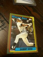 2020 Sammy Sosa Topps Tier One Rookie Relic SP #12/50 White Sox Cubs