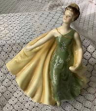 Vintage Royal Doulton Alexandra Hn 2398 Porcelain Lady Figurine 1969