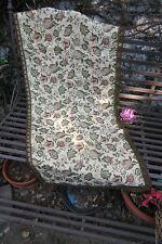 Table Runner Antique from France Brocade Damask big metallic brocade trim