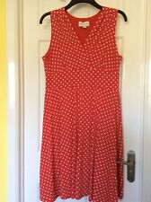 Brand New Dress 16 Ronni Nicole QVC Red And White Spot