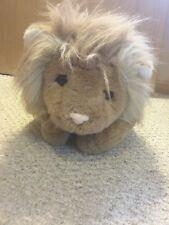Jumbo large 25-inch stuffed plush lion, stuffed animal, weighted, soft