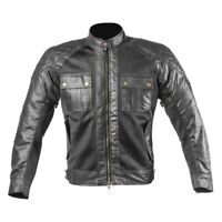 Men Wax Cotton Vintage Summer Textile Mesh Motorcycle Jacket Motorbike CE Armour