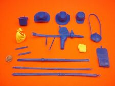 Marx (NEW ARMY BLUE ACCESSORY LOT) Johnny West Best Of The West Custer Maddox