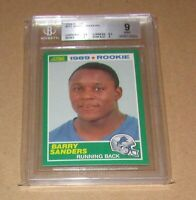 1989 Score #257 Barry Sanders RC BGS 9 MINT Fast Shipping!