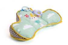 Taf Toys Baby Tummy Time Pillow | Perfect for 2-6 Months Old Babies, Enables &