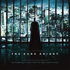 HANS ZIMMER-THE DARK KNIGHT SOUNDTRACK 180g DOUBLE VINYL LP, NEW/SEALED