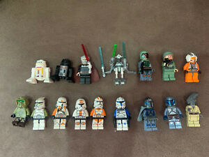 Lego star wars figuren Sammlung 16 Stück / REX /PRE VIZLA / DJANGO FETT