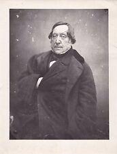 Giacomo Rossini Photo Nadar 1856 Tirage argentique postérieur circa 1910