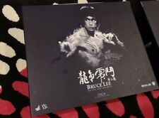 Hot toys dx04 Bruce Lee Enter the dragon Box and Diorama backdrops 1/6 no figure