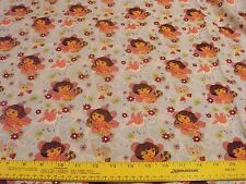 Dora Explorer Boots Rainbow Horse Fabric Sewing Quilting BTY 100% Cotton