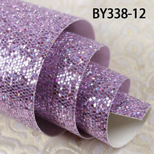 Chunky 3D Glitter Fabric Wallpaper Stairs Wall Border Table Runner Eco Friendly