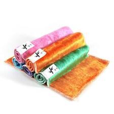 5 Pcs Mixed Color Microfiber Car Cleaning Towel Kitchen Washing Polishing Cloth