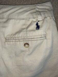 lot RALPH LAUREN boys Polo shorts shirts hat sz 8