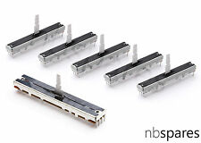 5 x FADER & 1 x CROSSFADER KIT FOR PIONEER DJM500 DJM600 DJM3000 - UPGRADE TYPE