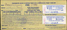 FLATHEAD INDIAN RESERVATION #FH5 ON DISABLED LICENSE USED FOR FISHING AND BIRD
