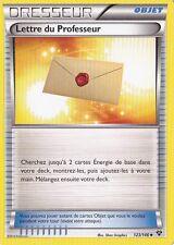 Lettre du Professeur - XY - 123/146 - Carte Pokemon Neuve - Française