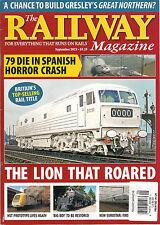 NEW! The RAILWAY Magazine UK September 2013 79 Die in Spanish Train Crash