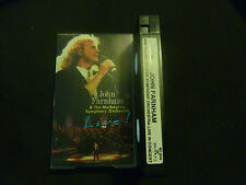 JOHN FARNHAM & THE MELBOURNE SYMPHONY ORCHESTRA RARE LIVE AUSSIE PAL VHS VIDEO!
