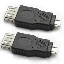 USB 2.0 A to Micro B Female / Male Adaptor, 2 Packs