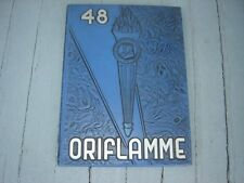 "1948 Franklin and Marshall College Yearbook ""Oriflamme"" Lancaster,Pennsylvania"