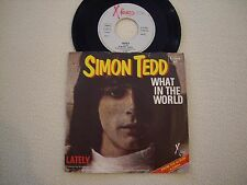"""Simon Tedd-what in the world/lately - 7"""""""