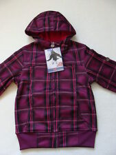 NWT Girls Transitional Winter Jacket Size 14 Zero XPosur Pink Hoodie Fall Coat
