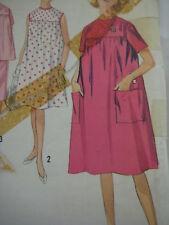 Vintage Simplicity 4857 MATERNITY DRESS TOP & SKIRT Sewing Pattern Women Sz 12