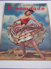 REVUE CINEMONDE ,  1954 . N° 1054 .