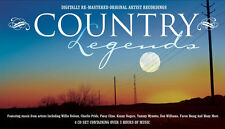 Country Legends 4 CD 50s 60s 70s Compilation Music New