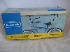 NEW Steel BIKE LIFT HOIST CEILING BICYCLE HANGER PULLEY RACK #95803