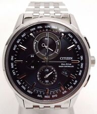 "Citizen World Chronograph A-T Eco-Drive Mens Watch AT8110-53E ""Fits 7.1"" wrist"""