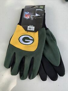 Green Bay Packers NFL Sport utility gloves forever collectibles Green #319