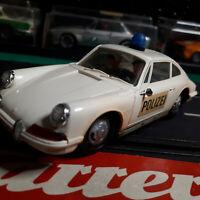 """MODELLAUTOS CARRERA UNI UNIVERSAL """"PORSCHE 911 POLIZEI""""   gepflegt mit OVP"""