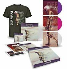 Deep Purple - Whoosh! Ltd. Boxset Artprints T-Shirt 2 Weiss Transparent Vinyl LP