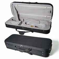 "High Quality 16 ""Viola Case Lightweight with Hygrometer Black/Grey Free Shipping"