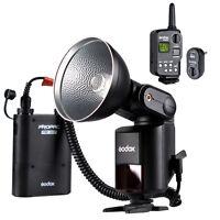 Godox Witstro AD-360 S1/S2 Bare Tube Flash Speedlite + PB960 Battery Power Pack