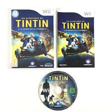 Les Aventures de Tintin - Le secret de la Licorne / Jeu Sur Nintendo Wii Complet