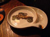 Model T / A Automobile Ashtray - Vintage Mid Century American Car Auto Ashtray