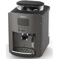 Krups EA815P automatic Cappuccino Espresso coffee maker machine BLACK