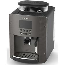Krups EA815P automatic Cappuccino Espresso coffee maker machine BLACK