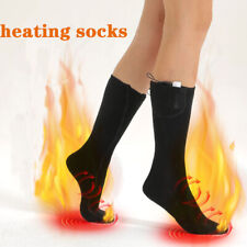 WarmerClimbs Electric Heated Socks, Rechargeable 3.7v 2200mAh Battery Heating